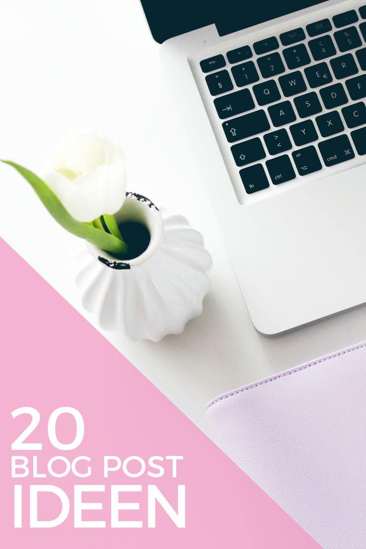 20 weitere Blog Post Ideen
