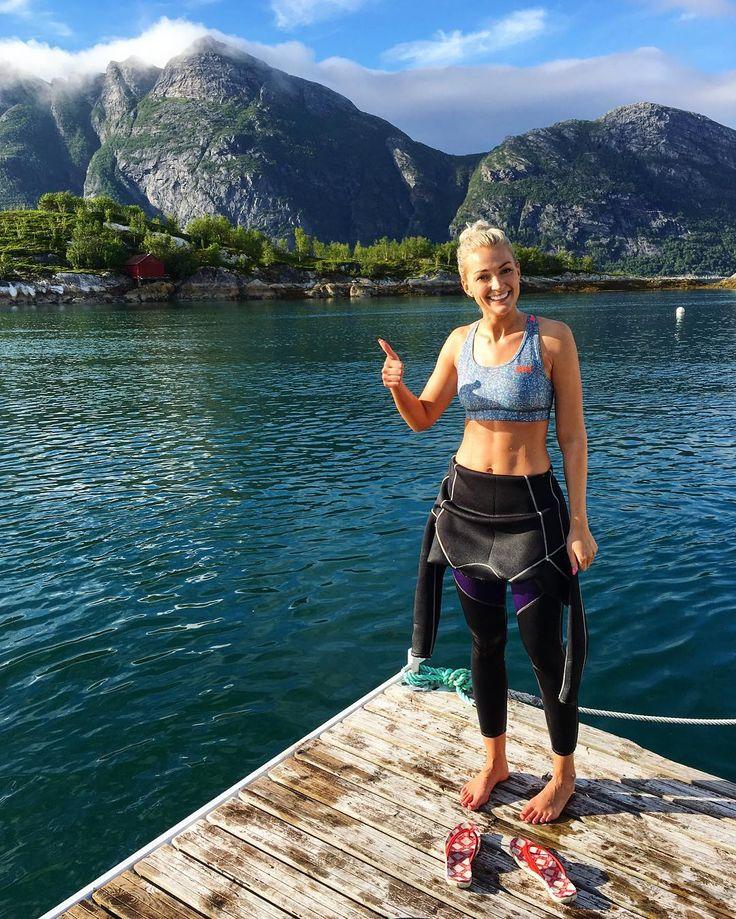 HH Ambassador @ linnvikan enjoys life on the docks!