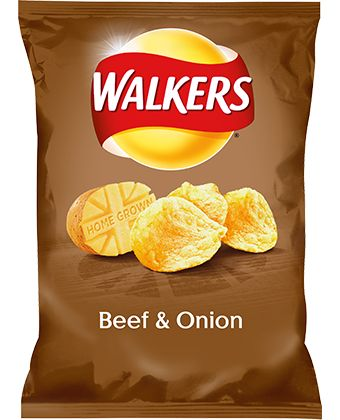 Walkers Beef & Onion Crisps | Walkers UK