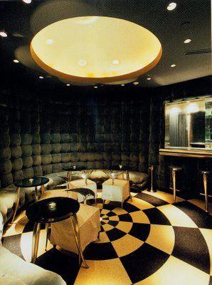 Phillipe Stark Bar Art Deco for restaurant area