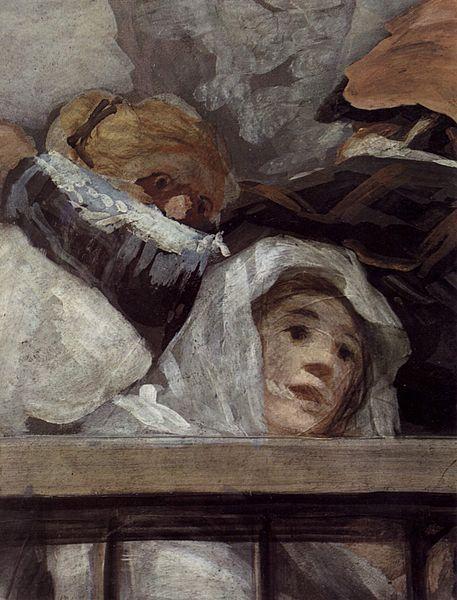Francisco de Goya y Lucientes - (fresco in San Antonio de la Florida, Madrid)