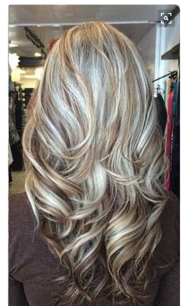 Highlights/low in gray hair