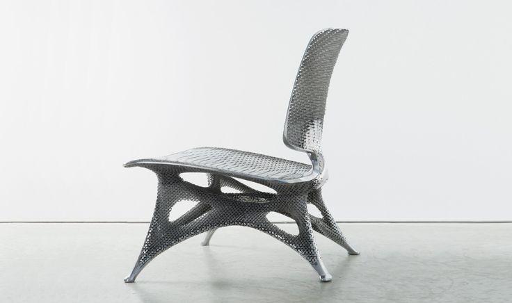 National Gallery Of Victoria, Australia - Joris Laarman chairs - ausergewohnliche relax liege hochster qualitat