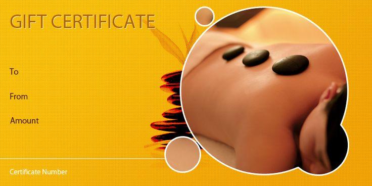 The 8 Best Vouchers Images On Pinterest Gift Certificates Massage