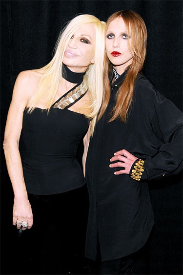 The New Versus Versace Party - Donatella Versace and Allegra Versace