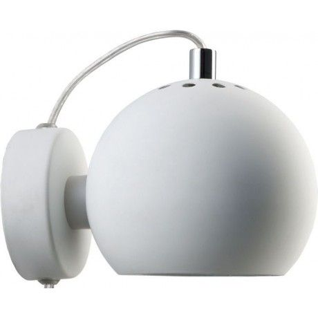 Frandsen Ball Wall Light Satin Finish