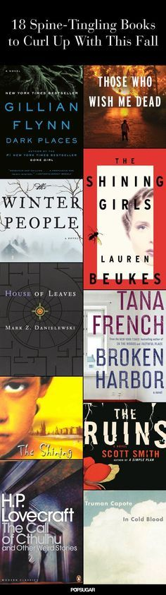 Fall's best thriller novels.