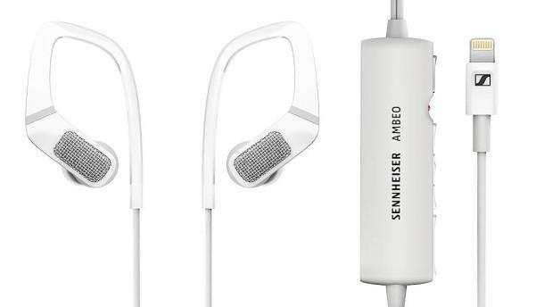 Kompaktes Audiotalent: Der Ambeo kann 360-Grad-Sound aufnehmen und wiedergeben. (Bild: Sennheiser)