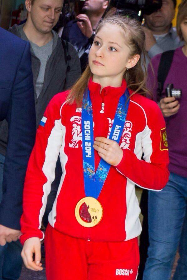 Yulia Lipnitskaya Gold Medal Best 25+ Yulia lipnits...