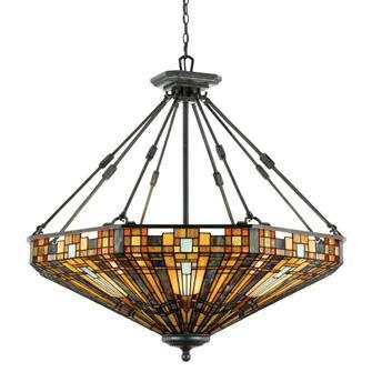 Arts Crafts Pendant Chandelier
