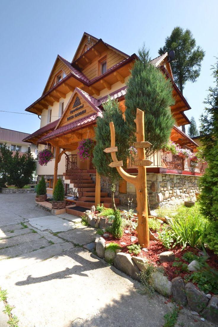 Aparthotel Garden położony w samym centrum Zakopanego, świetne miejsce na spędzanie czasu i wypoczynku w górach.