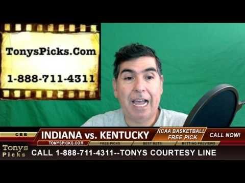Indiana Hoosiers vs. Kentucky Wildcats Pick Prediction College Basketbal...