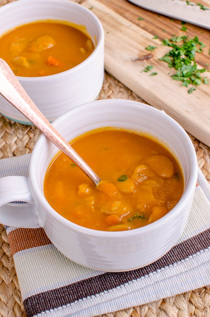 Looking for a simple, quick and delicious soup to make? This Syn Free Carrot and Butter Bean Soup will not disappoint. It's perfect for lunch or dinner and Gluten Free, Dairy Free and Vegan-friendly. Plus it can be cooked in a pressure cooker or stove top.