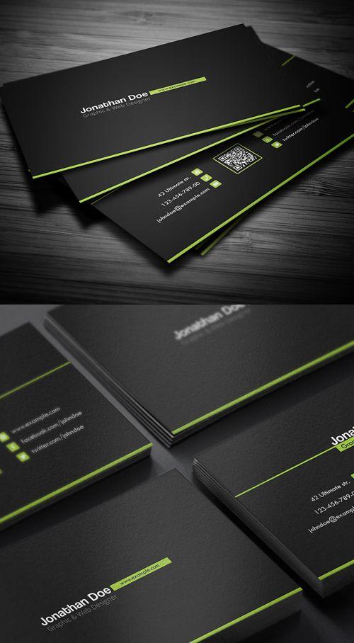 Creative Business Card #businesscards #printready #letterpress #creativebusinesscards