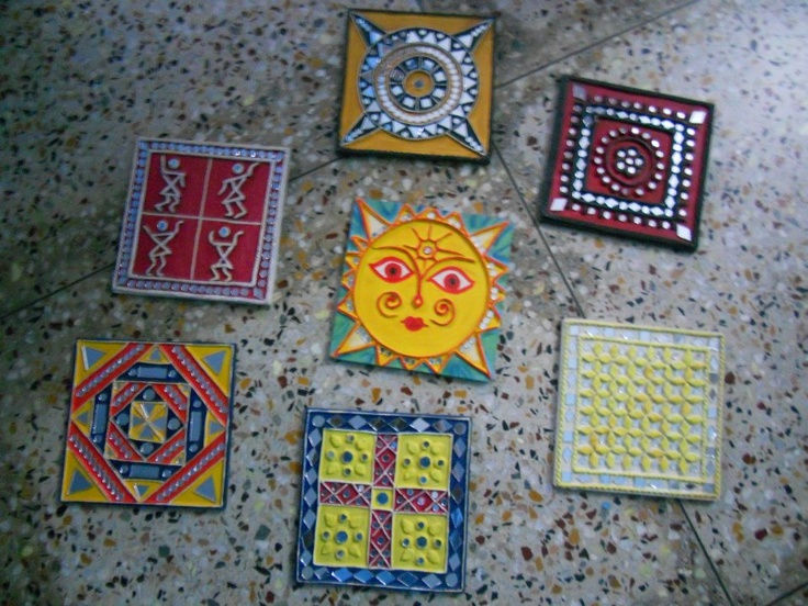 Love the art work of Kutch - mud work with mirrors