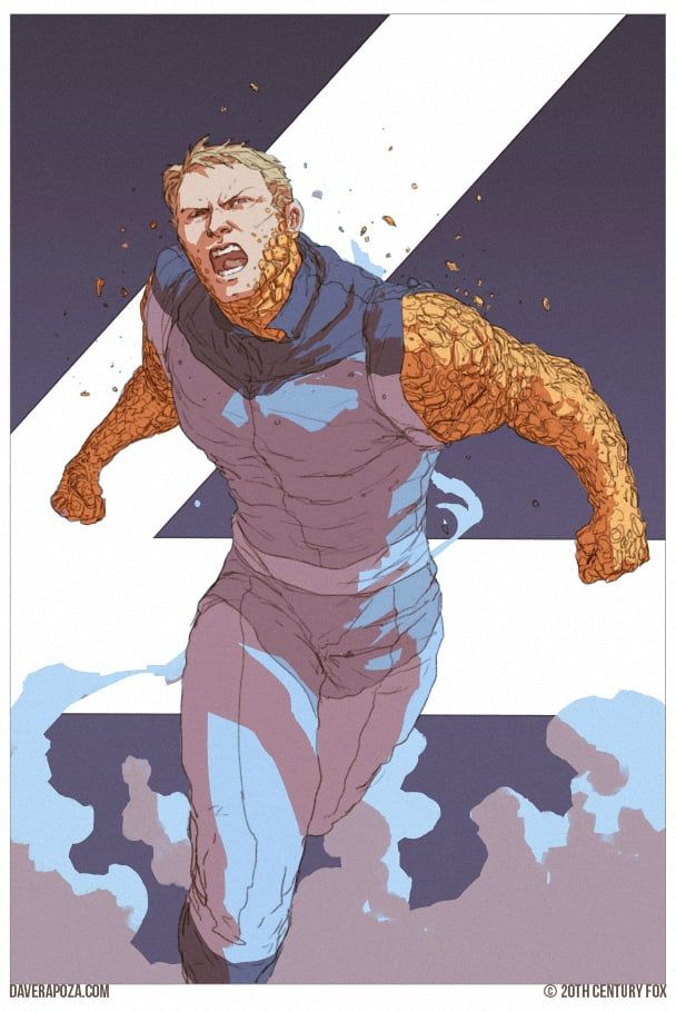 Rejected FANTASTIC FOUR Movie Posters Are Badass