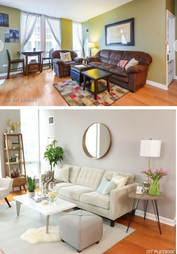 A Makeover For A Living Room In This Chicago Condo Neutral Color Palettes Neutral And Living
