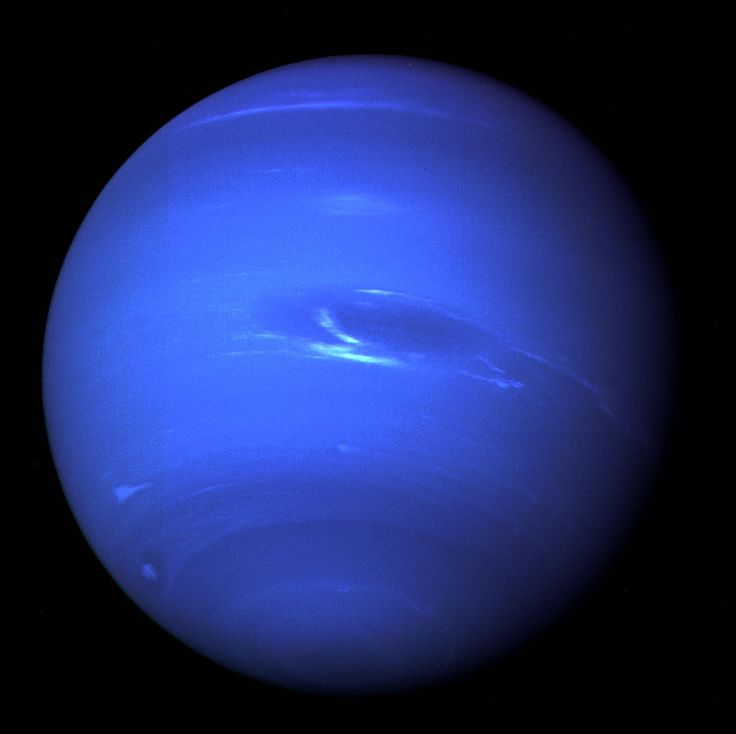 Neptune. A Helium, Hydrogen, and Methane gas giant.
