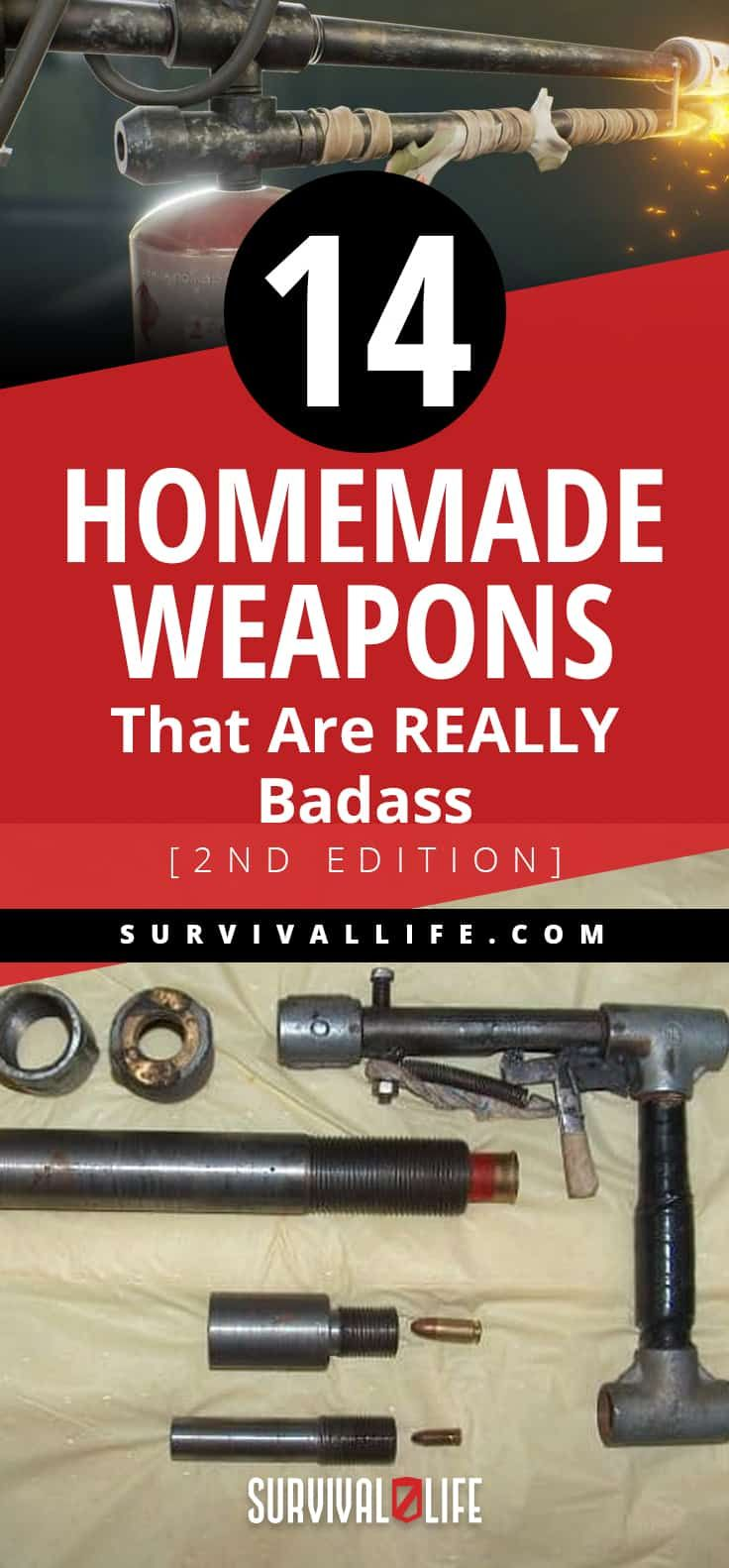 14 Homemade Weapons That Are REALLY Badass [2nd Edition]   Survival Life