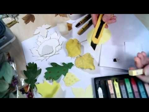 """Мастер-класс """"Как создавать осенние листья из фоамирана"""""""
