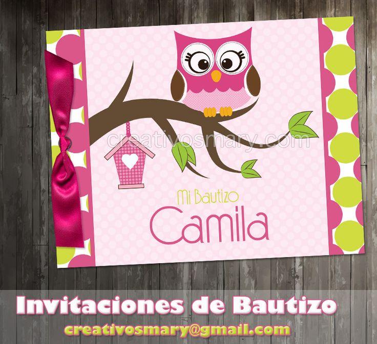 Bautizo www.creativosmary.com
