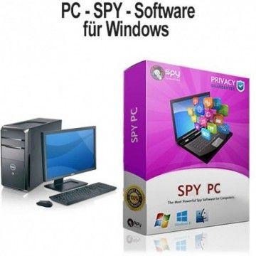 Computerüberwachung total mit dem ultimativen PC-Spionagetool SPY-PC.