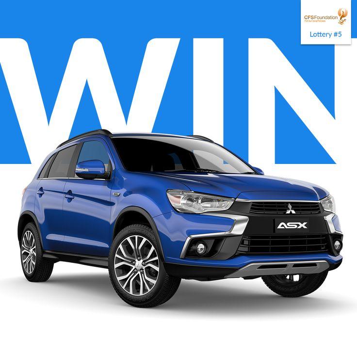 WIN! - Mitsubishi ASX LS 2WD - 7 Seater Diesel - Value $25,990 https://aspirecharitygaming.com/cfs-lottery-5/