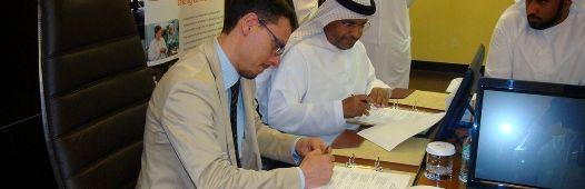 Giovedì 16 aprile 2015 Coopselios e la Family Development Foundation (Fdf) di Abu Dhabi (Emirati Arabi Uniti) hanno sottoscritto un accordo che costituirà la base per una collaborazione istituzionale di lungo periodo sull'educazione e il welfare