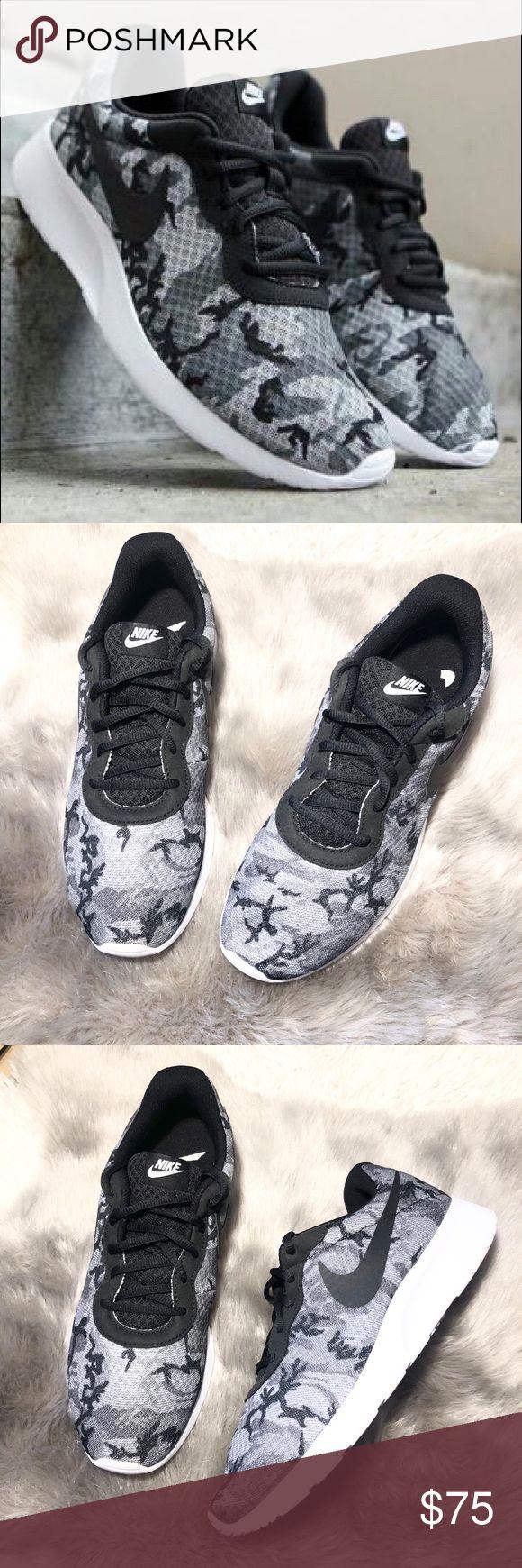 Nike Tanjun Print Running Sneakers Size 10