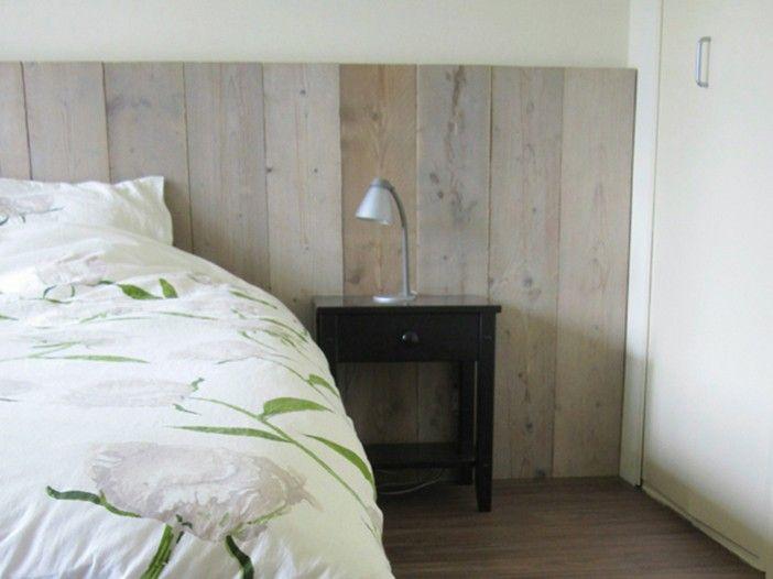 steigerhout wand slaapkamer ~ lactate for ., Deco ideeën