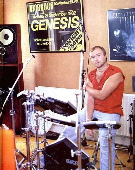 Phil Collins, musician Genesis