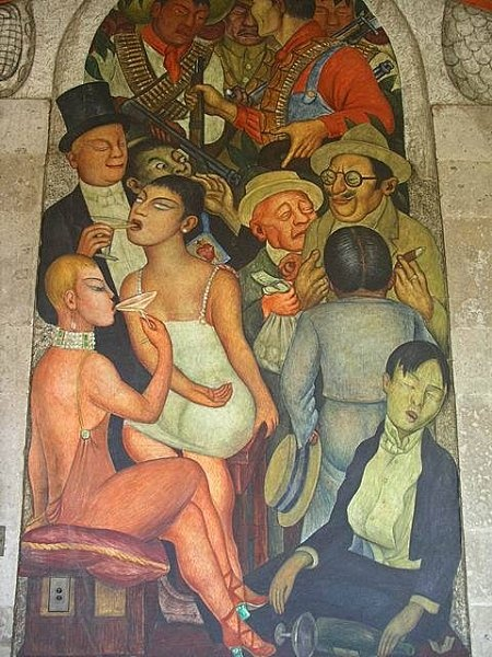 Diego rivera obras mexico arte latinoamericano for Arte mural en mexico