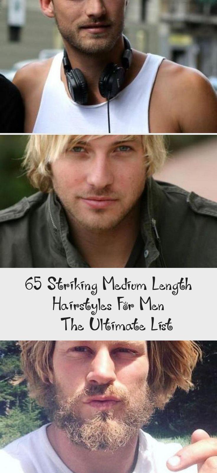 65 Striking Medium Length Hairstyles For Men – The Ultimate List