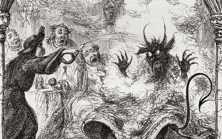 Decline of religion in the West has created a rise in black magic, Satanism   and the occult; evil abhors a vacuum...