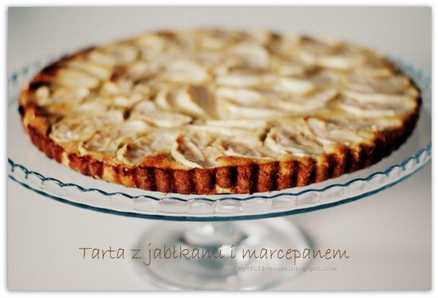 Tarta z jabłkami i marcepanem - zdjęcia na FotoForum | Gazeta.pl