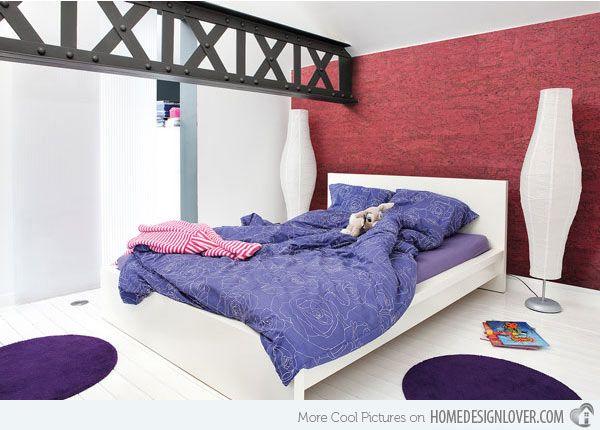 Really Attractive Girl's Bedroom Design