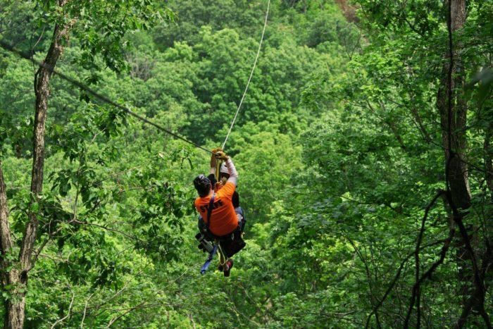 Zip Lining In Madison Wi