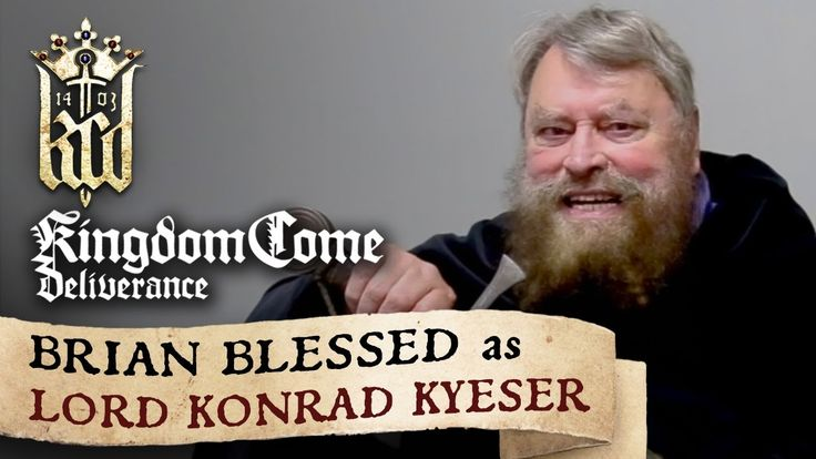 Kingdom Come: Deliverance presents: Brian Blessed as Lord Konrad Kyeser - YouTube | #Gaming #VideoGames #VideoGame #IndieGame #IndieGames #FirstPersonSlasher #RPG #Medieval #Historical #WarhorseStudios #KingdomCome #KingdomComeDeliverance #GamesArt #GameArt #VideoGamesArt #VideoGameArt #VoiceActing