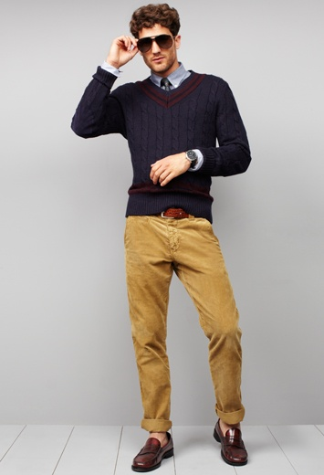 Fall style for him