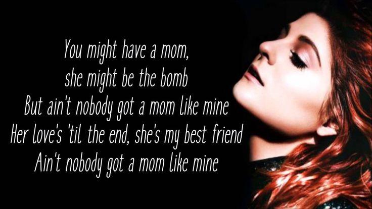 Meghan Trainor Ft. Kelli Trainor - Mom (lyrics)