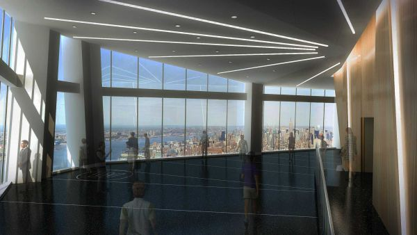 Take in the view from the top of the tallest building in the western hemisphere.