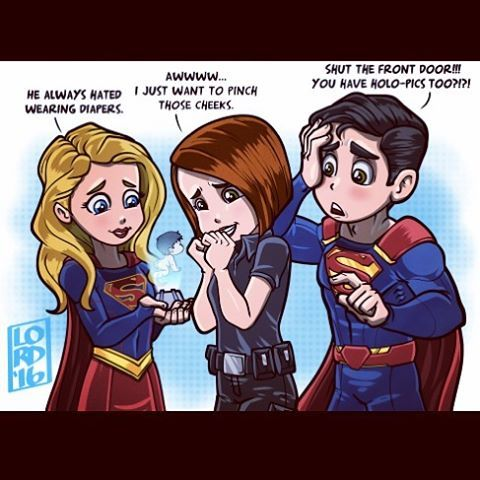 "Lordmesa Art — ""Supercute""  No one is safe from blackmail..."
