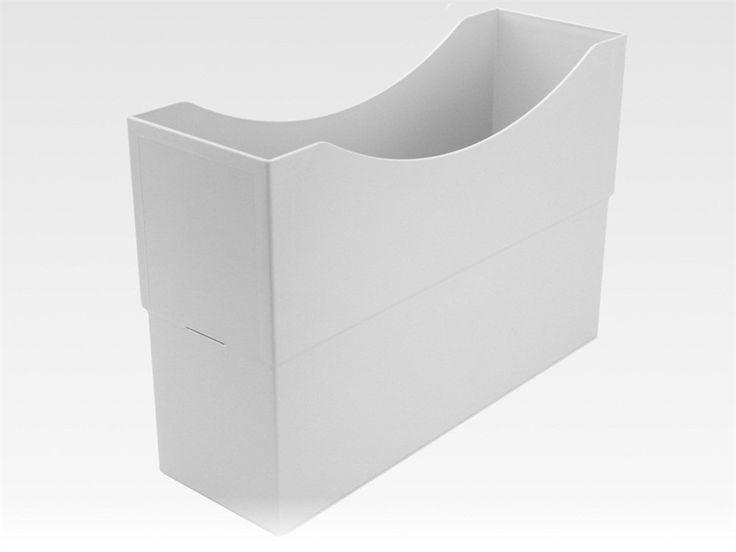 Classei Kunstoff Box, Farbe: lichtgrau, auch als Ablagebox verwendbar: Amazon.de: Bürobedarf & Schreibwaren