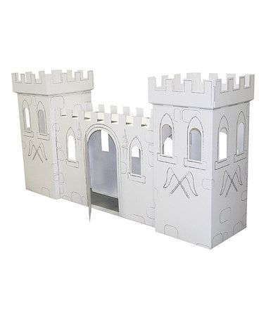 Cardboard castle playhouse plans woodworking projects for Castle design software