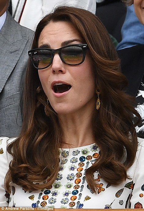 The Duchess could not contain her awe at some of the action in front of her We LOVE to Pin the Latest Photos on Pinterest! Please help us by visiting: www.TexasTrim to see our Deeply Discounted Heels and Accessories! Delivered right to your door! http://PinterestBob.com