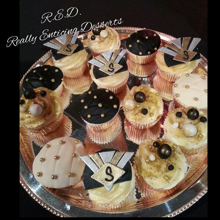Great Gatsby Themed Cupcakes Cakes By R E D Really