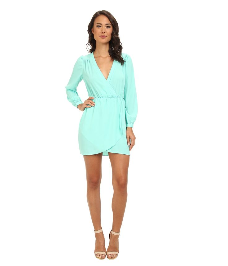 Brigitte Bailey Demri Dress in Turquoise color, Nude ankle strap heels,  Beauty in High