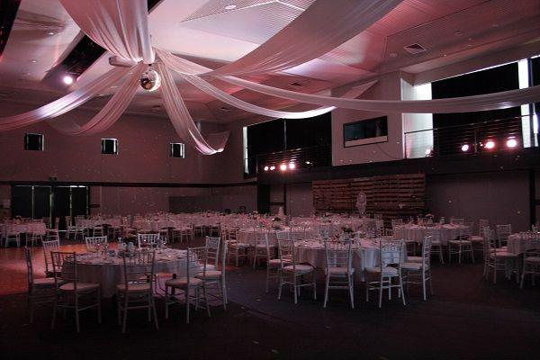 Toowoomba Weddings, Highfields Cultural Centre, wedding lighting