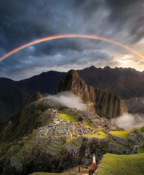 Inca citadel of Machu Picchu