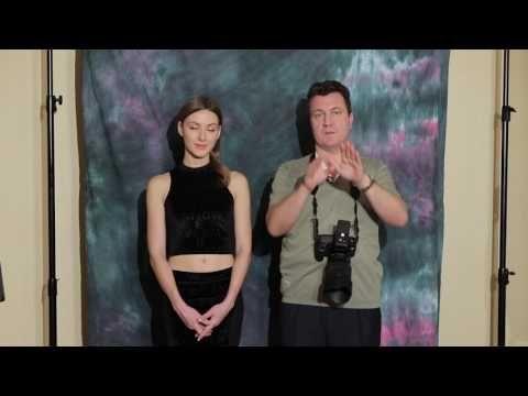 Урок 6. Домашняя фотостудия. Съемка портрета с двумя софтбоксами. - YouTube